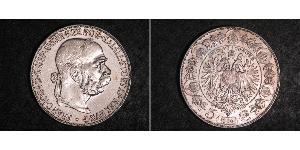 5 Corona Österreich-Ungarn (1867-1918) Silber Franz Joseph I (1830 - 1916)