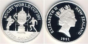 5 Dollar 新西兰 銀