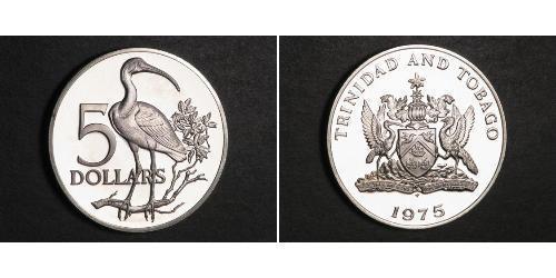 5 Dollar Trinité-et-Tobago Argent