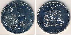 5 Dollar Barbados Copper/Nickel