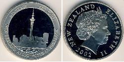 5 Dollar New Zealand Copper/Nickel