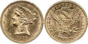 5 Dollar États-Unis d