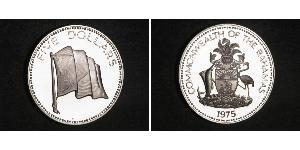 5 Dollar Bahamas Silber