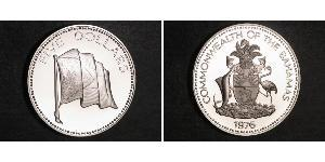5 Dollar Bahamas Silver