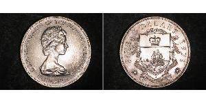 5 Dollaro Bahamas Argento Elisabetta II (1926-)