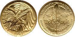 5 Dollaro Stati Uniti d
