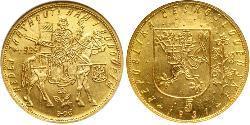 5 Ducat Czechoslovakia (1918-1992) Gold
