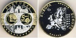 5 Euro Portugal Bimetal