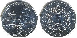 5 Euro Republic of Austria (1955 - ) Silver