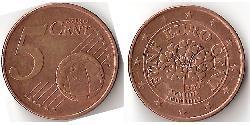 5 Eurocent Germania Rame/Acciaio