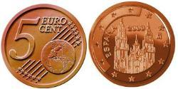 5 Eurocent Kingdom of Spain (1976 - ) Steel/Copper