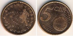 5 Eurocent Slovenia Steel/Copper