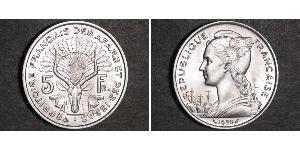 5 Franc French West Africa (1895-1958) Argent