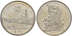 5 Franc Suisse Argent