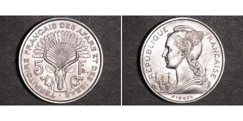 5 Franc French West Africa (1895-1958) Plata