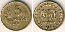 5 Grosh Polen Bronze