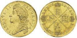5 Guinea Königreich England (927-1649,1660-1707) Gold Jakob II (1633-1701)