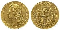 5 Guinea Königreich Großbritannien (1707-1801) Gold Georg II (1683-1760)