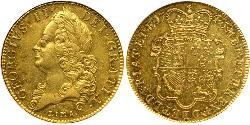 5 Guinea Kingdom of Great Britain (1707-1801) Gold George II (1683-1760)