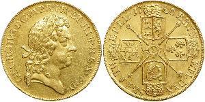 5 Guinea Kingdom of Great Britain (1707-1801) Gold George I (1660-1727)