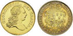 5 Guinea Regno Unito di Gran Bretagna (1707-1801) Oro Giorgio III (1738-1820)