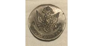 5 Kopeke Russisches Reich (1720-1917) Kupfer Katharina II (1729-1796)