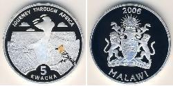 5 Kwacha Malawi Silber