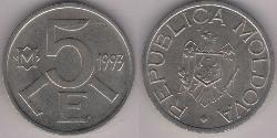 5 Leu Moldova (1991 - )
