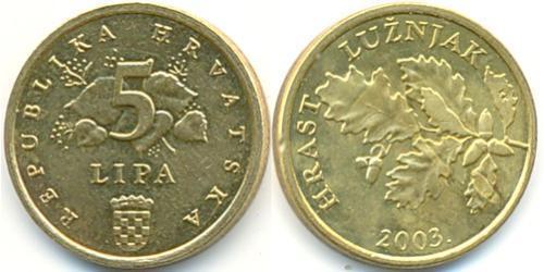 5 Lipa Croatia Steel/Brass