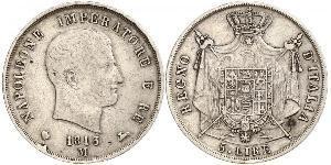 5 Lira 意大利 銀