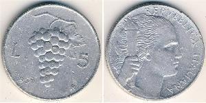 5 Lira 意大利 铝