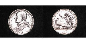 5 Lira Vatikan (1926-) Gold Pope Pius XI (1857 - 1939)
