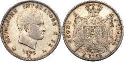 5 Lira Italy Silver Napoleon (1769 - 1821)