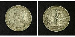 5 Lira San Marino Silver