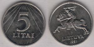 5 Litas Litauen (1991 - )