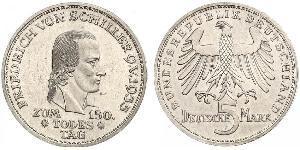 5 Mark Allemagne de l
