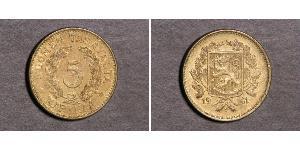 5 Mark Finland (1917 - ) Brass
