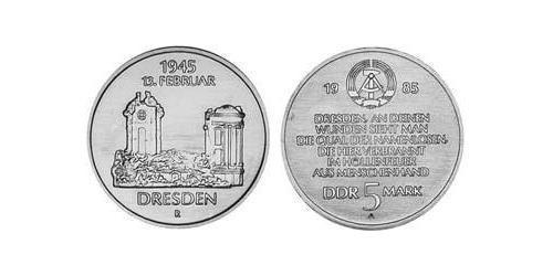 5 Mark République démocratique allemande (1949-1990) Cuivre/Nickel