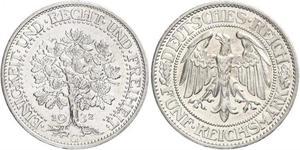 5 Mark Deutschland / Weimarer Republik (1918-1933) Silber