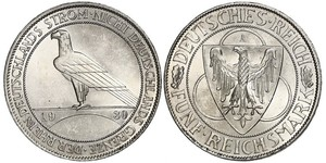 5 Mark Weimarer Republik (1918-1933) Silber