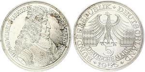 5 Mark Germany Silver