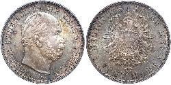 5 Mark Kingdom of Prussia (1701-1918) Silver Wilhelm I, German Emperor (1797-1888)