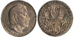 5 Mark Weimar Republic (1918-1933) Silver Paul von Hindenburg