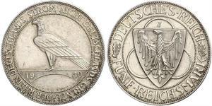 5 Mark Weimar Republic (1918-1933) Silver