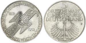 5 Mark Alemania Occidental (1949-1990)