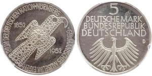 5 Mark Alemania Occidental (1949-1990)