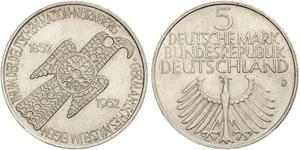 5 Mark Germania Ovest (1949-1990)