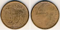 5 Ore Norwegen Bronze