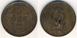 5 Ore Sweden Copper