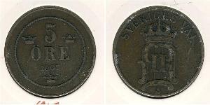 5 Ore Sweden Copper